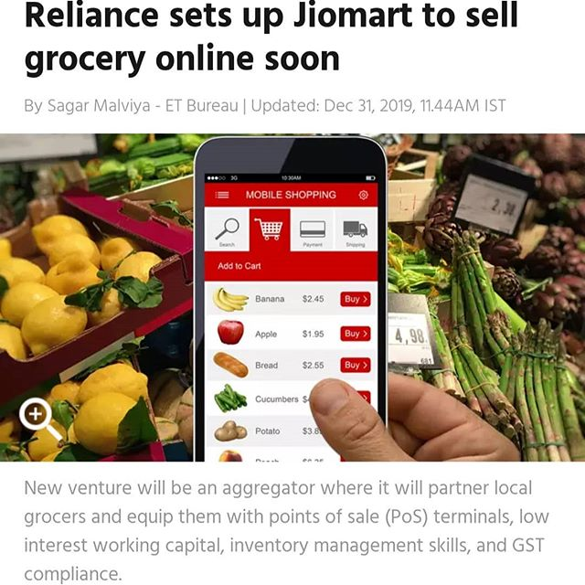 Reliance Jio Mart Begins with a Soft Push in Indian E-commerce Market